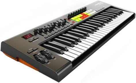 Novation Launchkey 49 [EDUCATIONAL PRICING] 49-Key MIDI Keyboard Controller with Software LAUNCHKEY-49-EDU