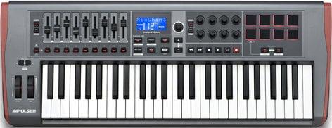Novation Impulse 49 [EDUCATIONAL PRICING] 49-Key USB MIDI Controller Keyboard IMPULSE-49-EDU