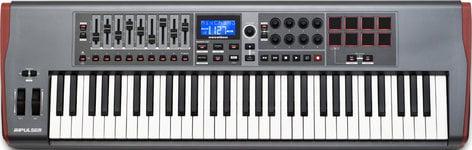 Novation Impulse 61 [EDUCATIONAL PRICING] 61-Key USB MIDI Controller Keyboard IMPULSE-61-EDU