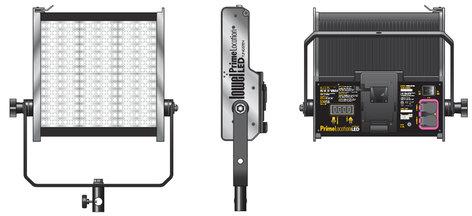 Lowel Light Mfg PL-92VTU Prime Location Tungsten Color 2 LED Light Kit with V-Lock Battery Plate PL-92VTU