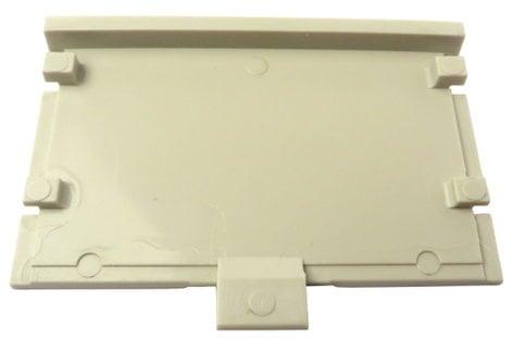 Telex 63514-000 White Beltpack Battery Cover 63514-000