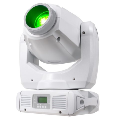 ADJ Inno Spot LED Pearl 80W LED Moving Head Fixture in White INNO-SPOT-PRO-PEARL