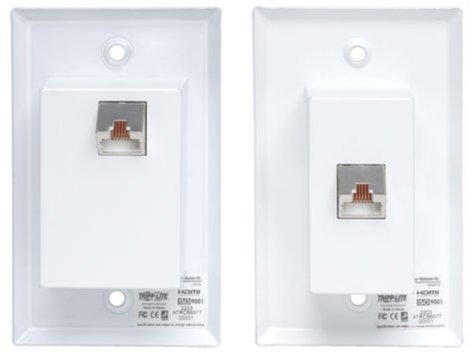 Tripp Lite B126-1A1-WP  HDMI Over Cat5 / Cat6 Extender for Extended Range Wallplate Transmitter & Receiver B126-1A1-WP