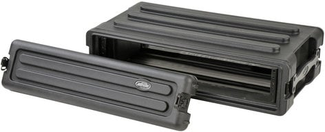 SKB Cases 1SKB-R2S 2RU Roto-Molded Shallow Rack Case 1SKB-R2S