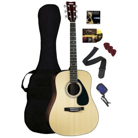 Yamaha GIGMAKER-STD F325 Standard Guitar, Acoustic Package GIGMAKER-STD