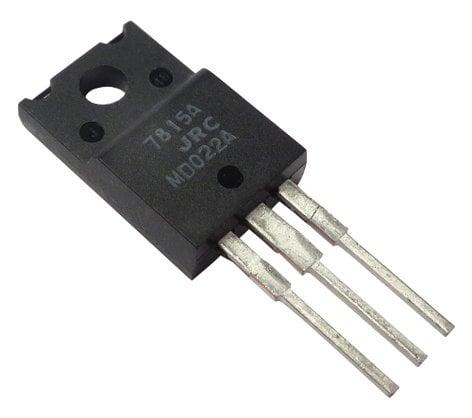 Yamaha XD853A0R  7815 + 15v Regulator for GA24/12 XD853A0R