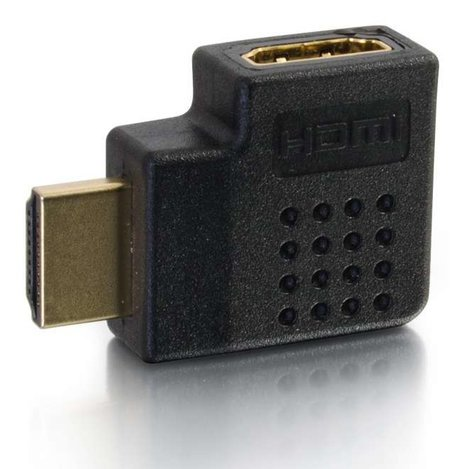 Cables To Go 43290  Right Angle HDMI Adapter with Right Exit 43290