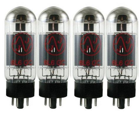 JJ Electronics 6L6GCQJJ Quartet of 6L6 Power Vacuum Tubes 6L6GCQJJ