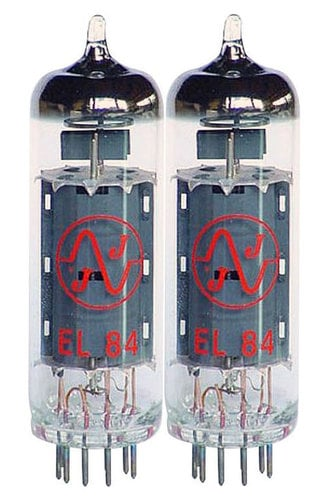 JJ Electronics EL84MJJ Pair of EL84 Power Vacuum Tubes EL84MJJ