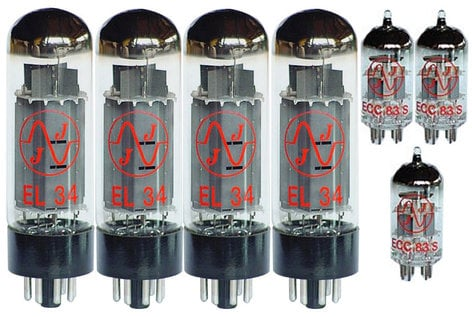 JJ Electronics SET-JCM800 Tube Set for 100W JMP or JCM800 SET-JCM800