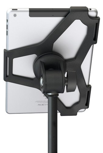 K&M 19714 iPad Air Microphone Stand Mount in Black 19714