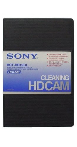 Sony BCT-HD12CL HDCam Small-Size Cleaning Cassette BCTHD12CL