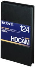Sony BCT124HDL HDCAM Large Cassette, 124 Min. BCT124HDL
