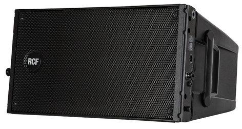 "RCF HDL 10-A 1400W Peak Dual 8"" Active Line Array Speaker Module in Black HDL10-A"