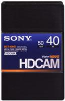 Sony BCT40HD HDCAM Small Cassette, 40 Min. BCT40HD