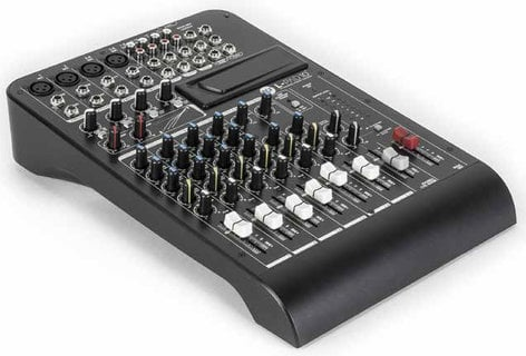 RCF L-PAD 10C 10-Channel Mixer with Expansion Slot and 2 Built-In Compressors LIVEPAD-10C