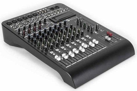 RCF L-PAD 12C 12-Channel Mixer with Expansion Slot and 4 Built-In Compressors LIVEPAD-12C