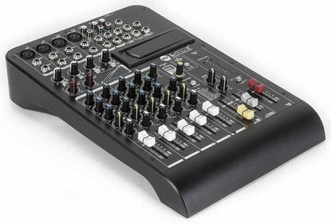 RCF L-PAD 8CX 8-Channel Mixer with Expansion Slot, Built-In Effects and 2 Built-In Compressors LIVEPAD-8CX