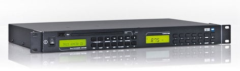 RCF MS 1033 Dual Source Rackmount Multimedia Player MS1033