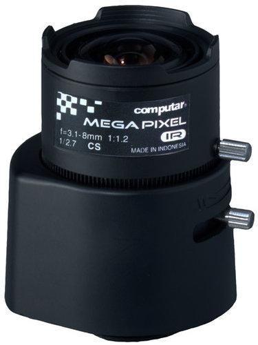 "Computar/Ganz AG3Z3112FCS-MPIR  A Series 3MP 1/2.7"" 3.1-8mm F1.2 Varifocal HD Series DC Auto-Iris Day/Night IR Lens with CS Mount AG3Z3112FCS-MPIR"