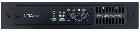 Lab Gruppen LUCIA-120/2 2 x 60W Commercial Amplifier with DSP LUCIA-120/2
