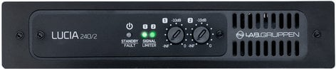 Lab Gruppen LUCIA-240/2 2 x 120W Commercial Power Amplifier with DSP LUCIA-240/2