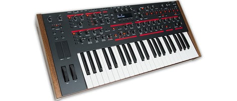 Dave Smith Instruments Pro 2 Mono Hybrid Synthesizer with Keyboard PRO-2-KEYBOARD