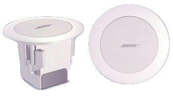 Bose FS3F-WHITE-PR Pair of FreeSpace 3 Flushmount Satellite Speakers in White FS3F-WHITE-PR