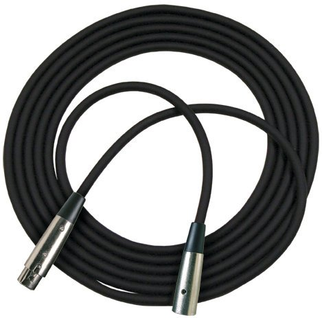 RapcoHorizon Music RM1-10.NY  10 ft XLR Microphone Cable in Neon Yellow RM1-10.NY
