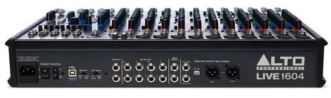 Alto LIVE-1604  16-Channel 4-Bus Mixer with USB Interface and Built-In DSP Effects LIVE-1604