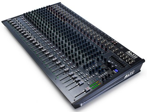 Alto Professional Live 2404 24-Channel 4-Bus Mixer with USB Interface and Built-In DSP Effects LIVE-2404