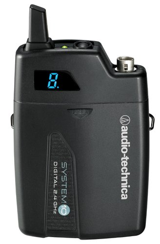 Audio-Technica ATW-1701 System 10 Portable Camera-Mount Digital Wireless Bodypack System without Microphone ATW-1701