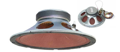 "Lowell 8C10MRB-T72  8"" Moisture Resistant Loudspeaker with Dual Voltage Transformer 8C10MRB-T72"