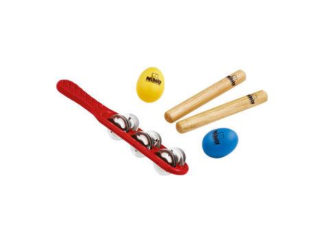 NINO Percussion NINOSET2 5-Piece Kid's Percussion Kit NINOSET2