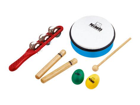 NINO Percussion NINOSET3 7-Piece Kid's Percussion Kit NINOSET3