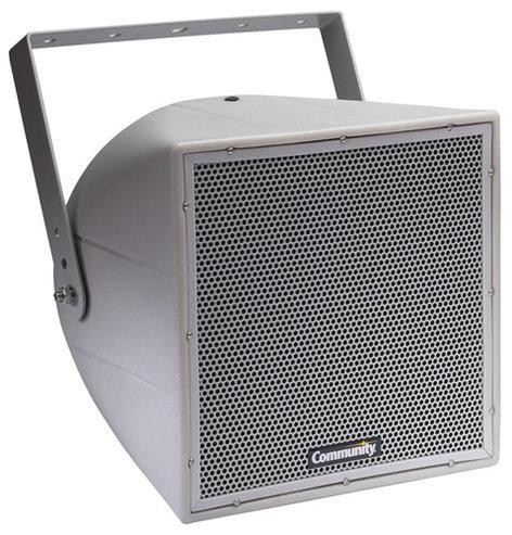 Community R.25-94TZ 2-Way Full-Range Weather Resistant Loudspeaker in White for 70V/100V Lines R.25-94TZ