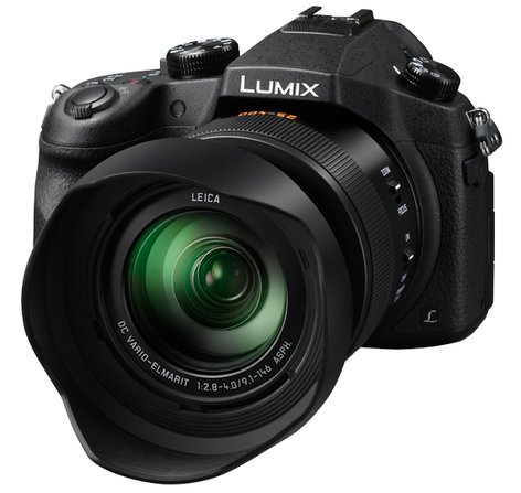 Panasonic DMC-FZ1000 20.1MP Lumix FZ1000K 4K QFHD-HD 16X Long Zoom Digital Camera DMC-FZ1000