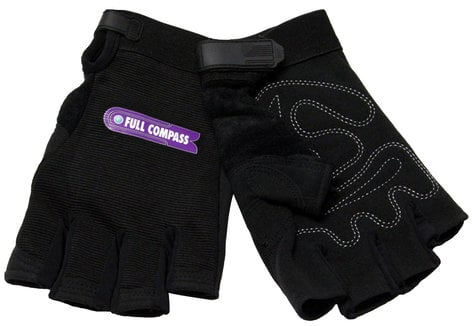 Full Compass Systems FCS-GLOVES-FINGERLES  Fingerless Gloves FCS-GLOVES-FINGERLES