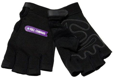 Full Compass Systems FCS-GLOVES-FINGERLES  Fingerless Gloves FCS-GLOVES-FINGERLES