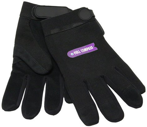 Full Compass Systems FCS-GLOVES-MECHANIC  Mechanics Gloves FCS-GLOVES-MECHANIC