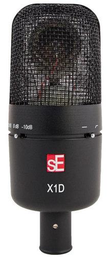 SE Electronics sE X1 D Kick Drum/Percussion Cardioid Condenser Microphone SE-X1-D