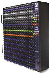Hear Technologies MIX-BACK-MIXER  Personal Monitor Mixer, 16 x 12 x 2 x 2 MIX-BACK-MIXER
