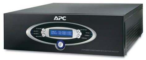American Power Conversion J10BLK  1kVA Power Conditioner with 120V Battery Backup J10BLK