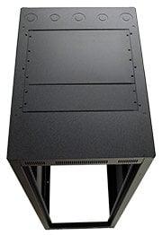 "Lowell LER-3527-LRD  35RU 27"" D Rack Cabinet without Rear Door LER-3527-LRD"