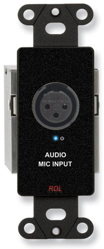 Radio Design Labs DB-TPS1A Active Single Pair Sender - Twisted Pair Format-A - XLR Microphone Input with Phantom DB-TPS1A