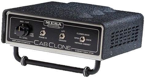 Mesa Boogie Ltd CABCLONE 4 4 Ohm Guitar Cabinet Simulator/Loadbox CAB-CLONE-4