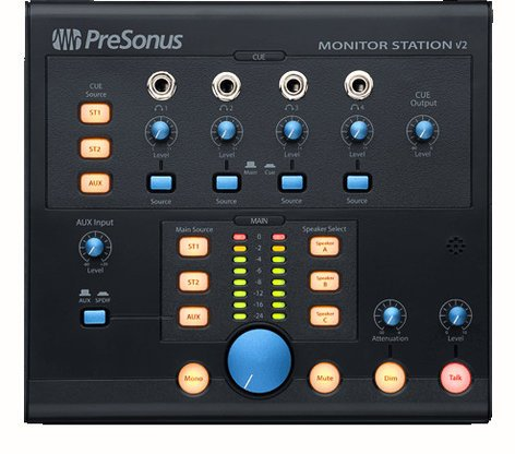 PreSonus Monitor Station V2 [EDUCATIONAL PRICING] Desktop Studio Control Center MONITORSTATION-V2EDU