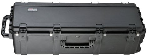 SKB Cases 3i-4213-12B-E iSeries Large Empty Drum Hardware Case with Handle, Wheels, and Lock 3I-4213-12BE