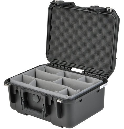 SKB Cases 3I-1309-6B-D iSeries Small Waterproof Utility Case with Dividers 3I-1309-6B-D