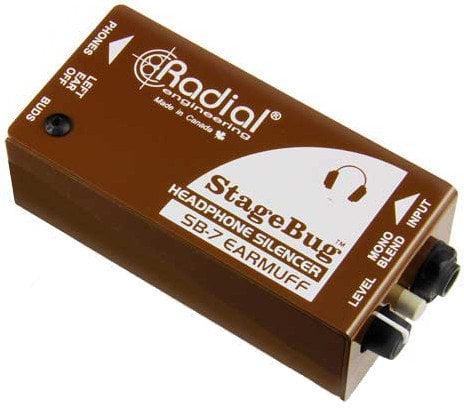 Radial Engineering STAGEBUG-SB7 StageBug SB-7 Earmuff Headphone Silencer STAGEBUG-SB7